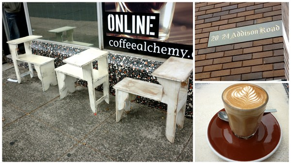 Café review  Flint and Steel Coffee Alchemy Marrickville